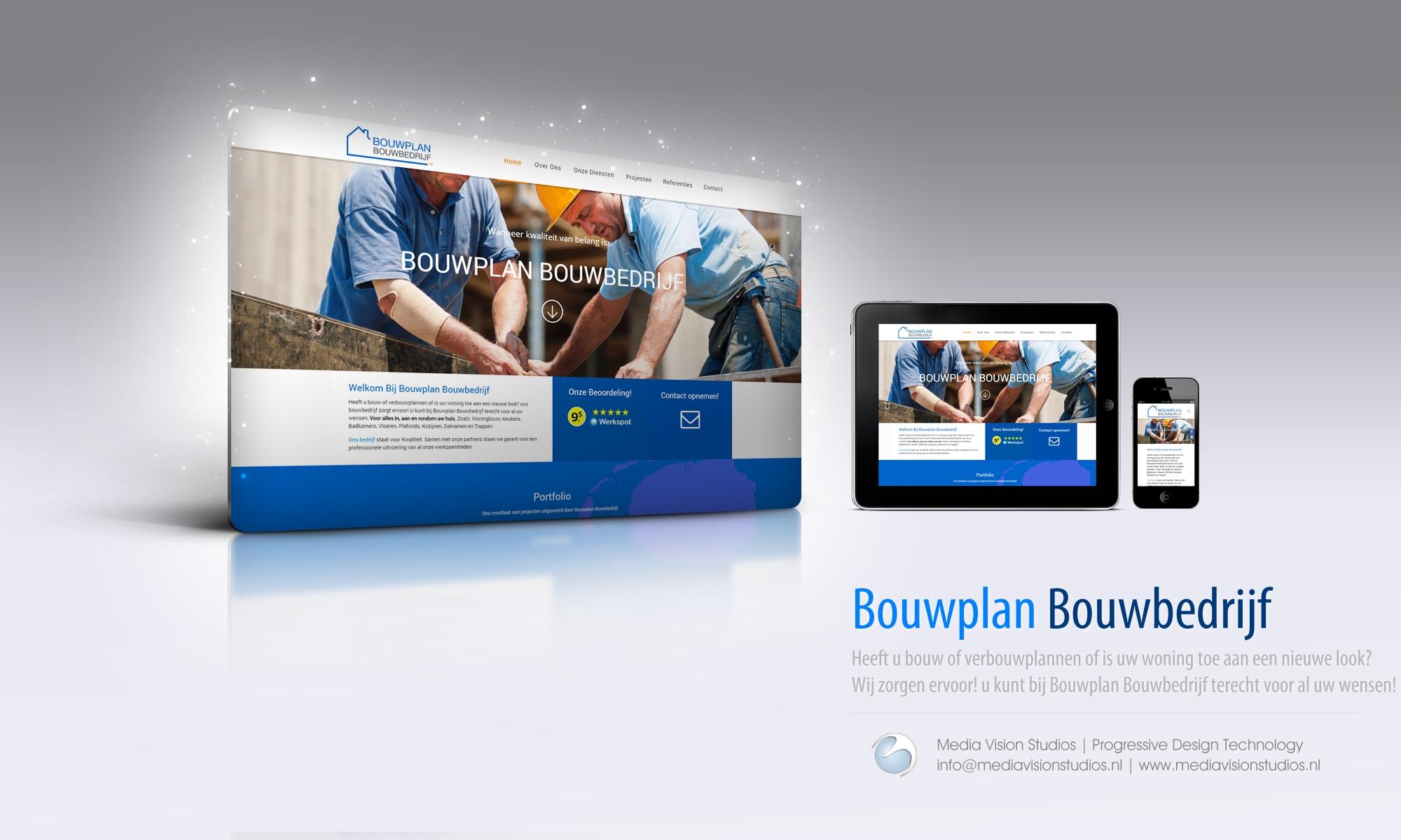 Bouwplan Bouwbedrijf